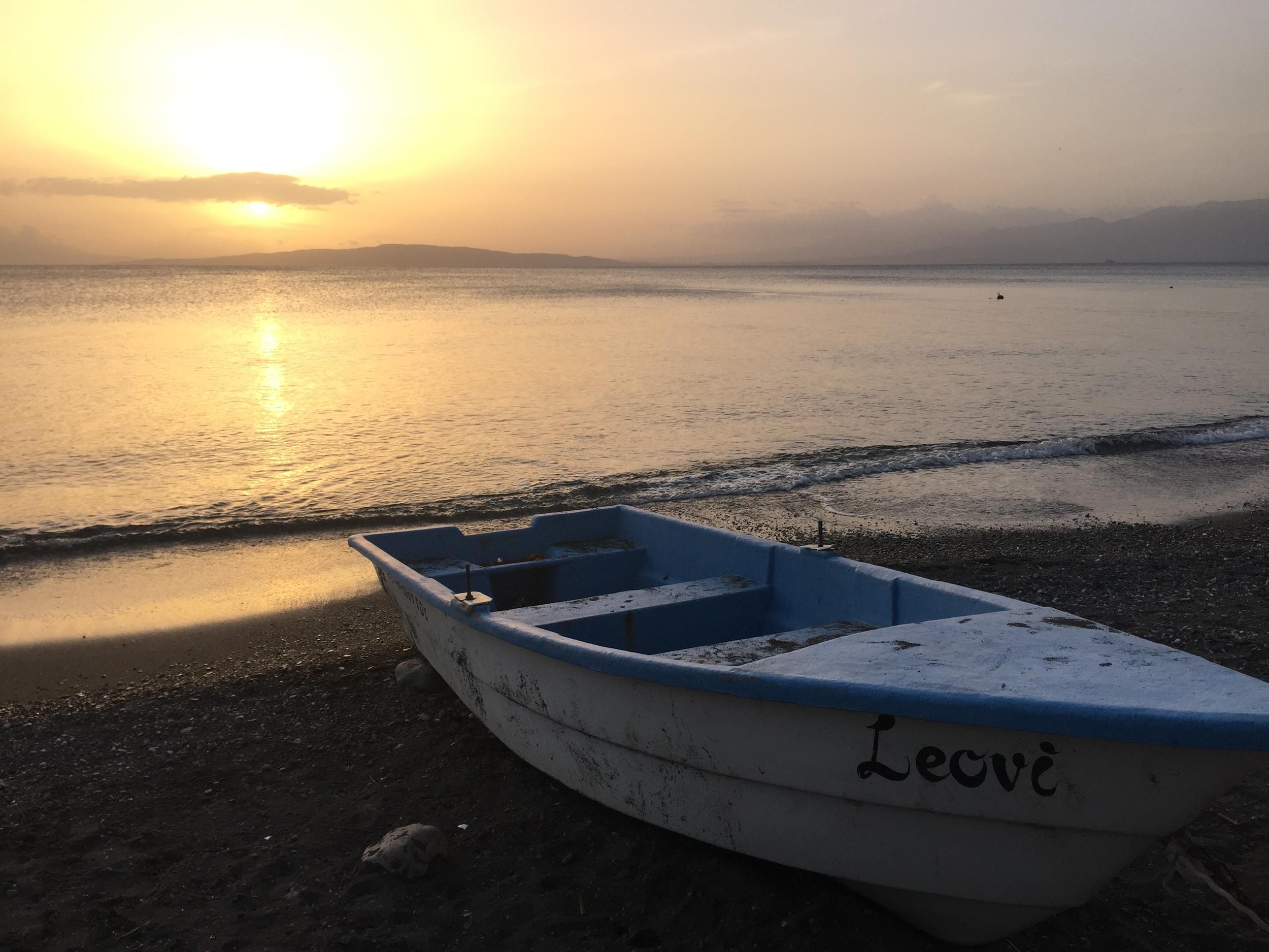 Sunset at the Beach: Palmar De Ocoa