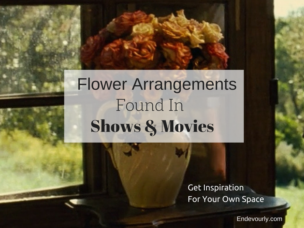 Flower arrangements found in shows and movies