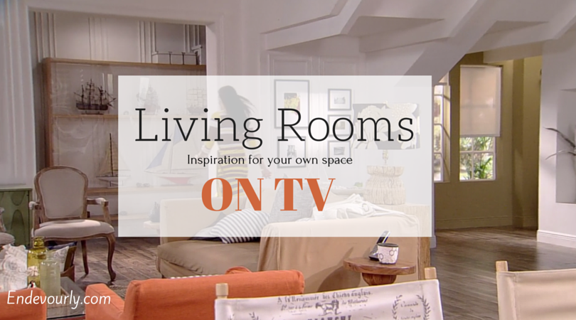 Living rooms on TV