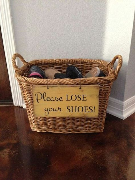 Remove Your Shoes At The Door