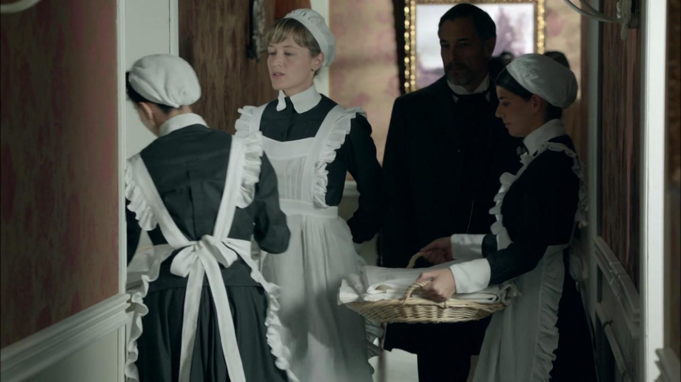 """Scene from """"Gran Hotel"""" (Found On Netflix)."""