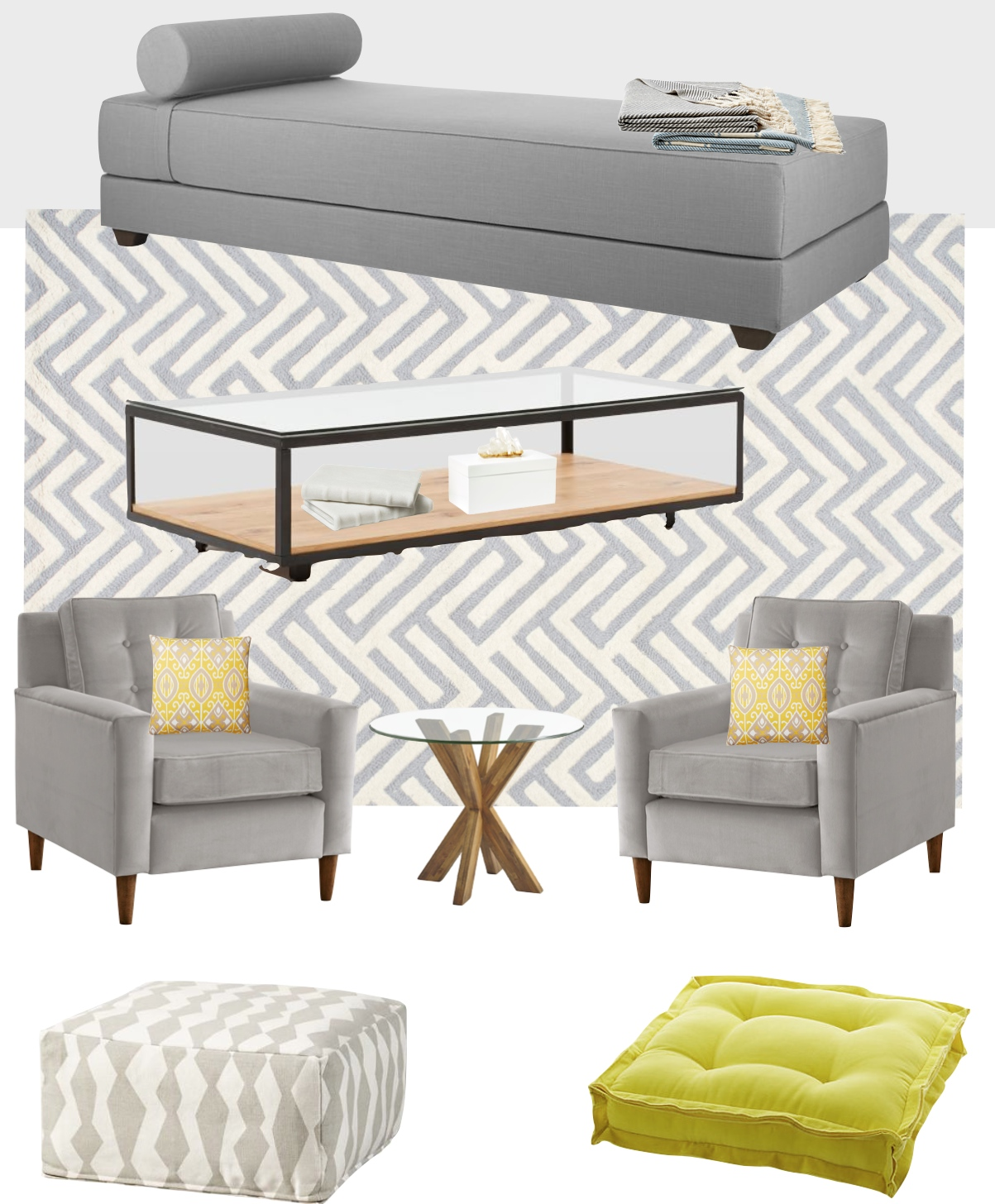 Lounge Space Mood Board