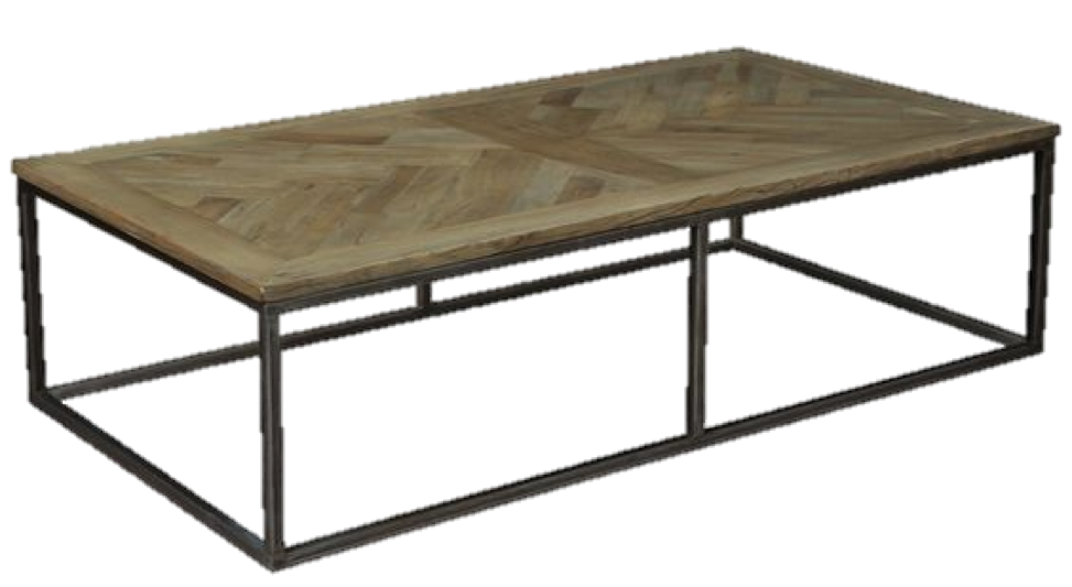 Living in New York City, we've seen our fair share of parquet floors in pre-war buildings. If you're into the parquet look, introducing a parquet-top coffee table to any space will warm up the look and is completely suitable for traditional and modern rooms.