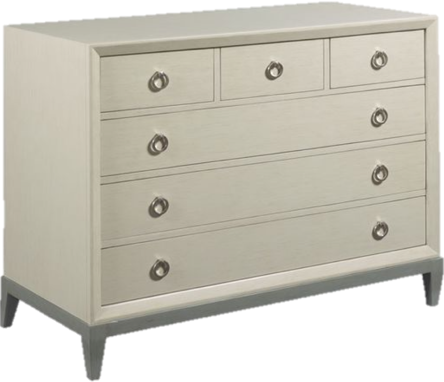 There's nothing better than a sophisticated chest that can be used anywhere in the home. Entryway, bedroom, or living room. The gray finish is soft and completely able to match any existing decor. We specially love the storage potential and how sleek and classic it looks.