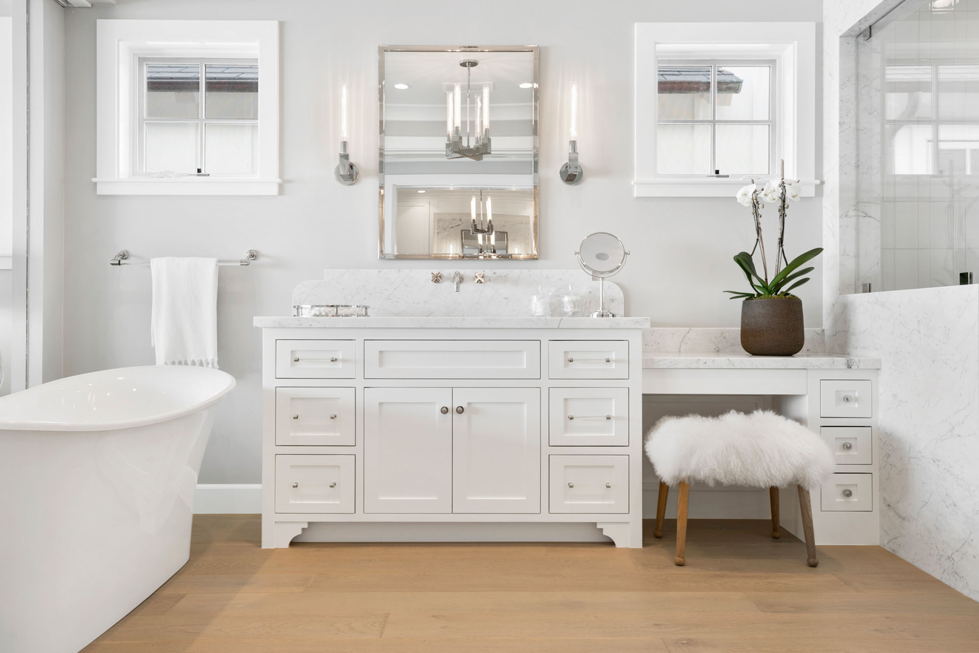 Guide To Custom Bathroom Vanity Styles Synonymous