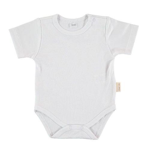 White Basic Body - Short Sleeves