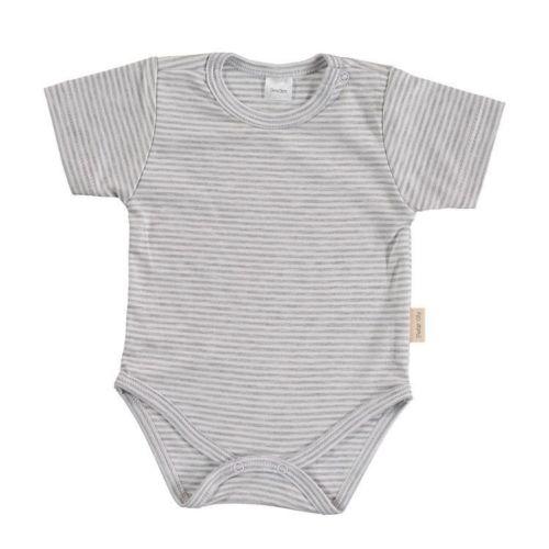Gray Stripes Basic Body - Short Sleeves