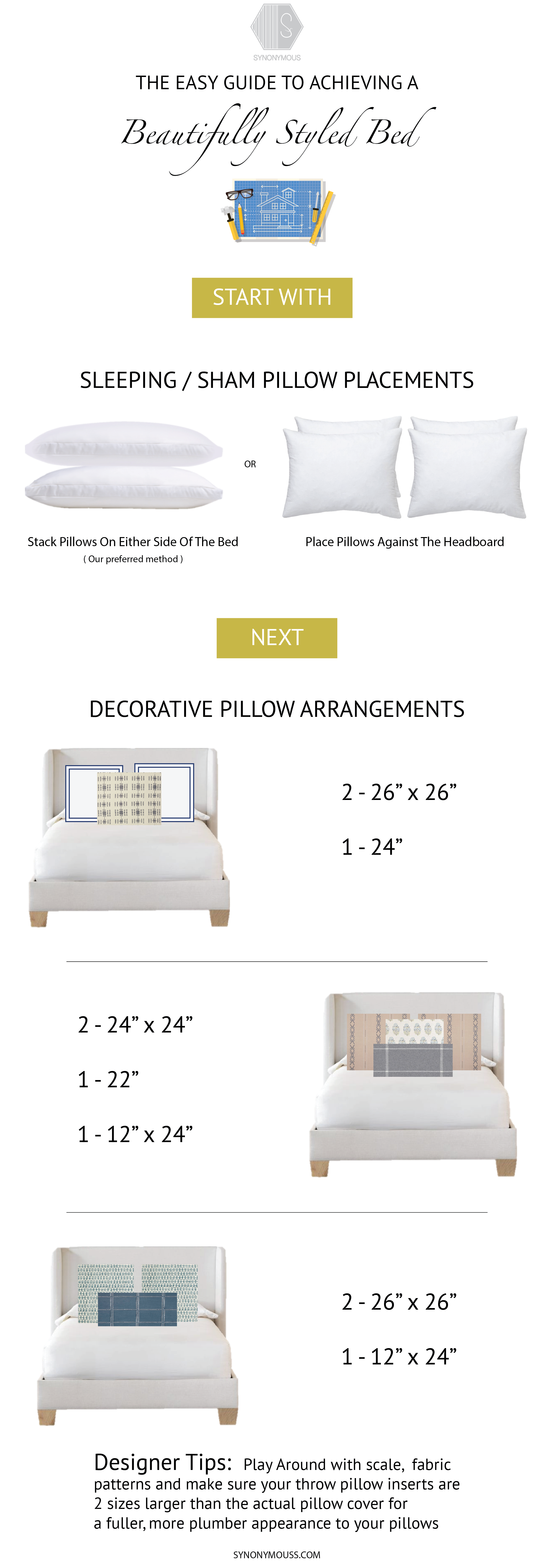 Guide To Styling A Beautiful Bed - SYNONYMOUS
