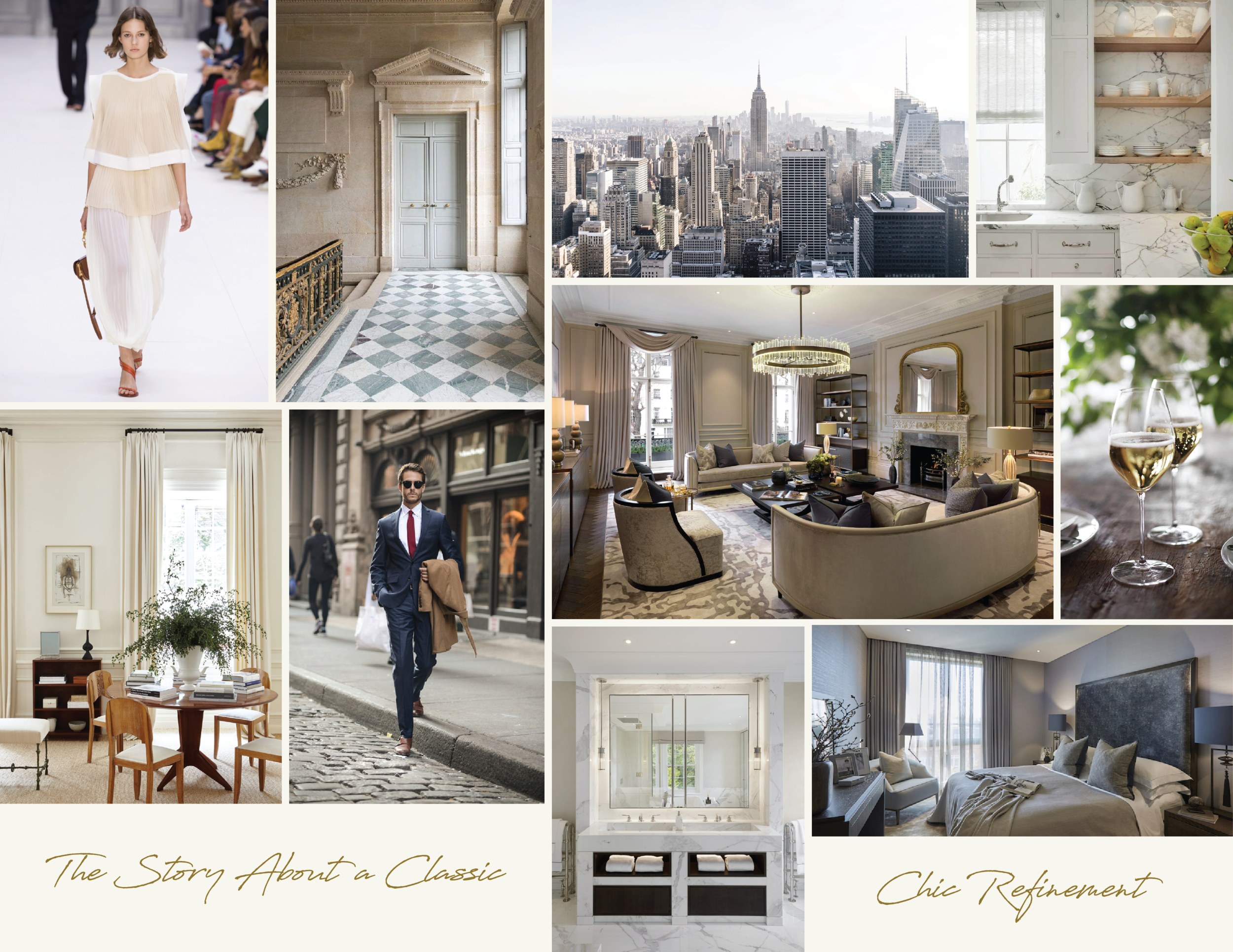 Synonymous Company Profile Interior Design Mood Board — Synonymous Luxury Interior Design NYC — Synonymouss.com