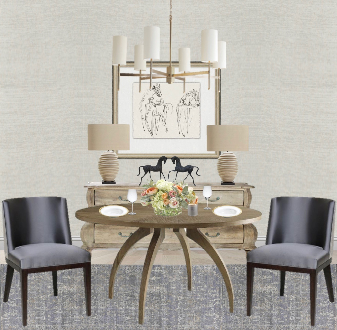Rustic Chic Dining Room by Synonymous — Synonymouss.com.jpg