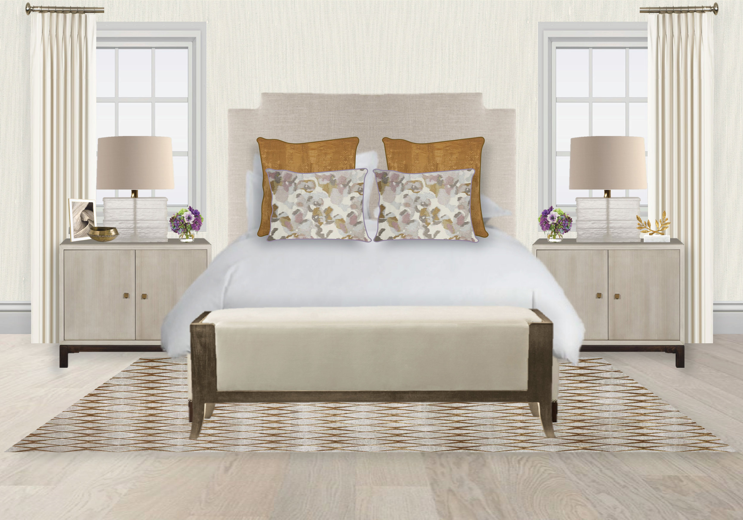 Spring Bedroom by Synonymous | Synonymouss.com