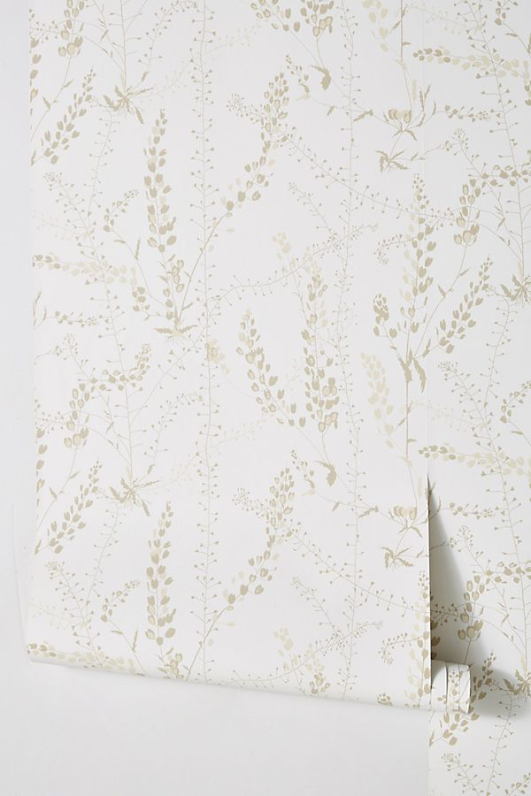 Add a bit of floral without overwhelming a space with a soft colored, delicate floral wallpaper. Use it in powder bathrooms, in a child's bedroom or even a closet for added whimsy and interest.
