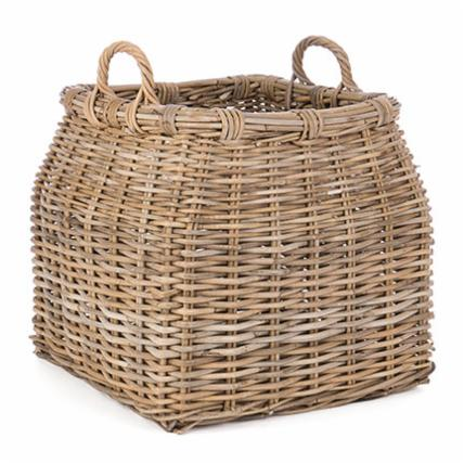 We are all about unique and beautifully crafted pieces. This solid, robust and spacious rattan basket is perfect for storing throw blankets, rolled towels and even fire wood. We love its natural rustic chic look, adding warmth and texture to a space.