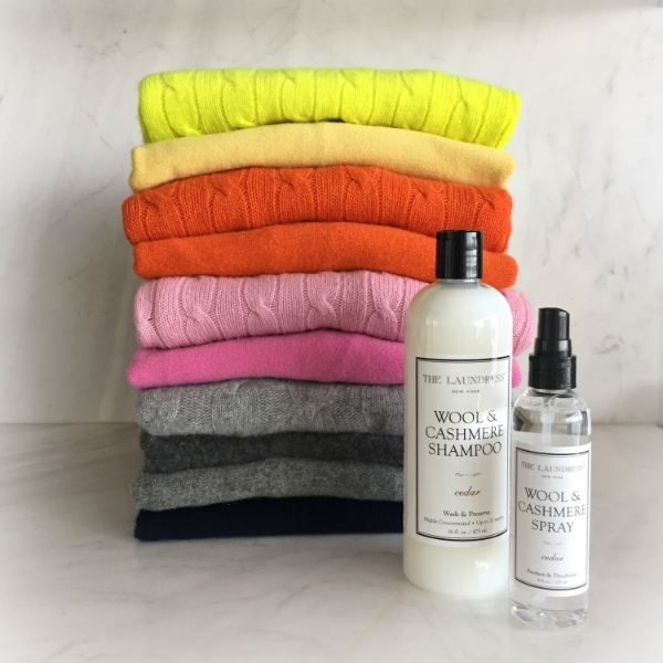 Cashmere care essentials from The Laundress