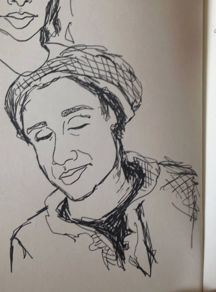 "Subway Portrait: ""I Don't Mind"""