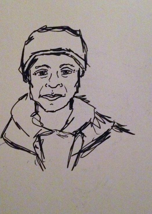 Subway Portraits: Quiet