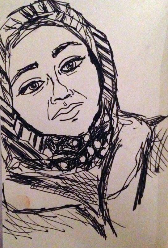 "Subway Portraits: ""Me too?"""