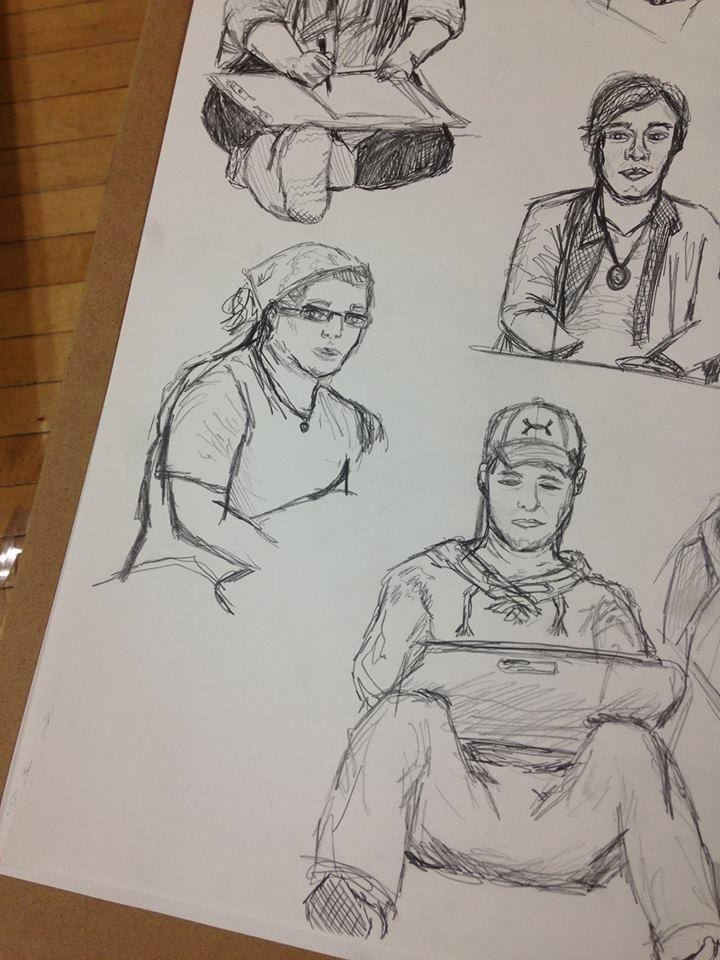Drawing Class Observation