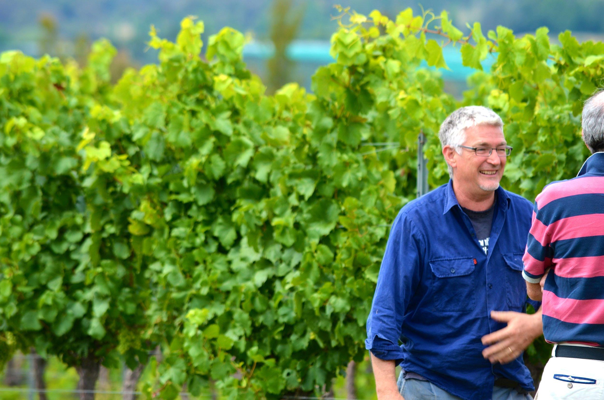 Winemaker Charlie Svenson