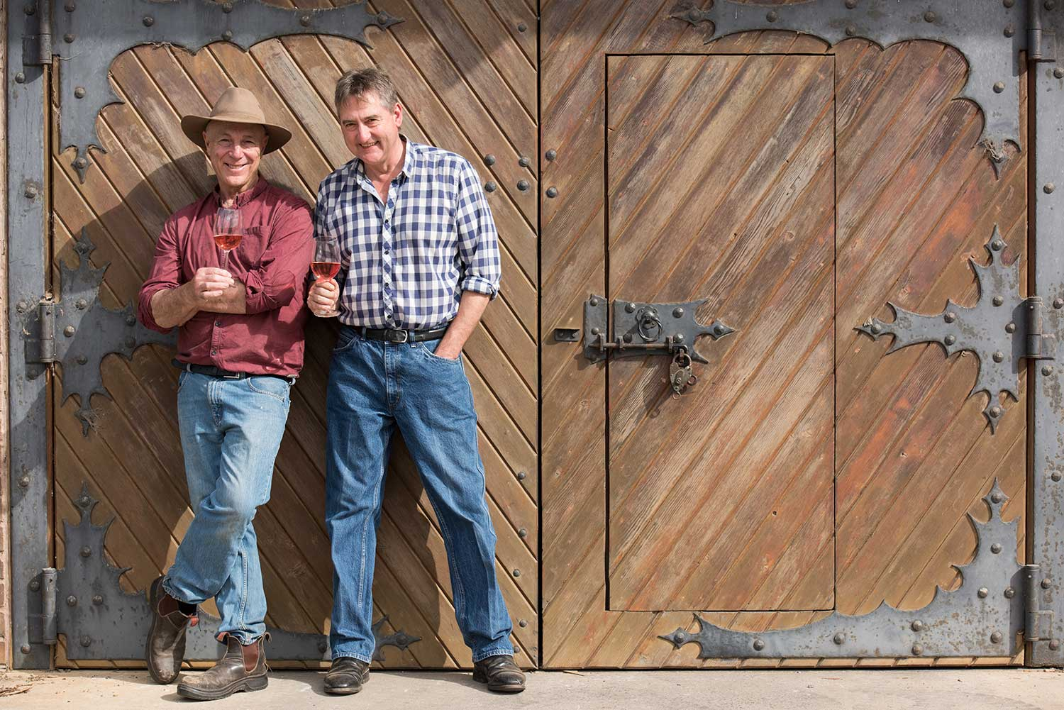 Hahndorf Hill co-owners and partners Larry Jacobs (L) & Marc Dobson (R)