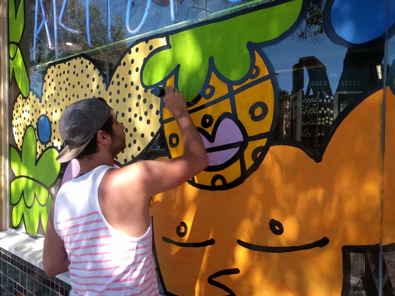 Artist Craftsman Mural Berkeley Garzi Inc