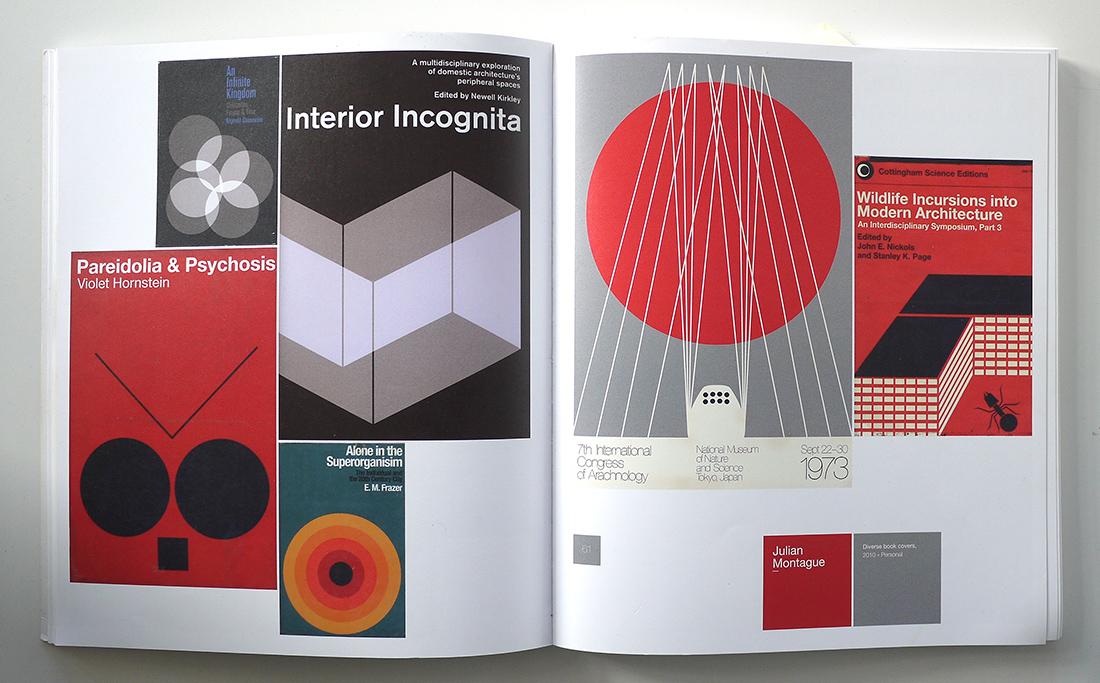 A spread from  The Modernist , Die Gestalten Verlag, 2011