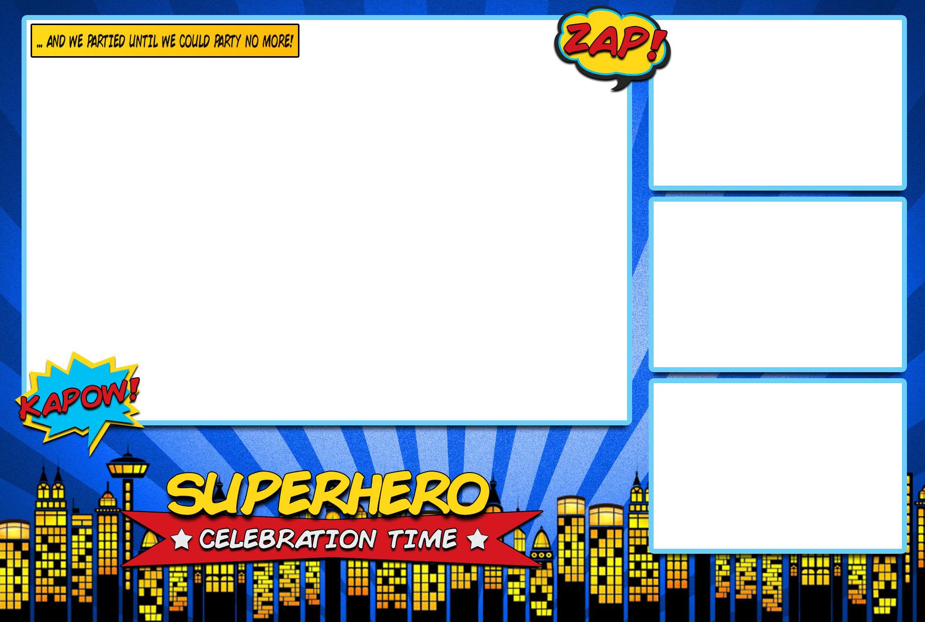 Superhero Template