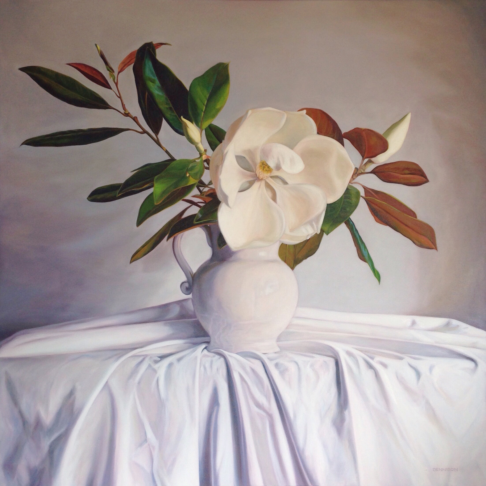 Grandiflora   Oil on Canvas, 106cm x 106cm