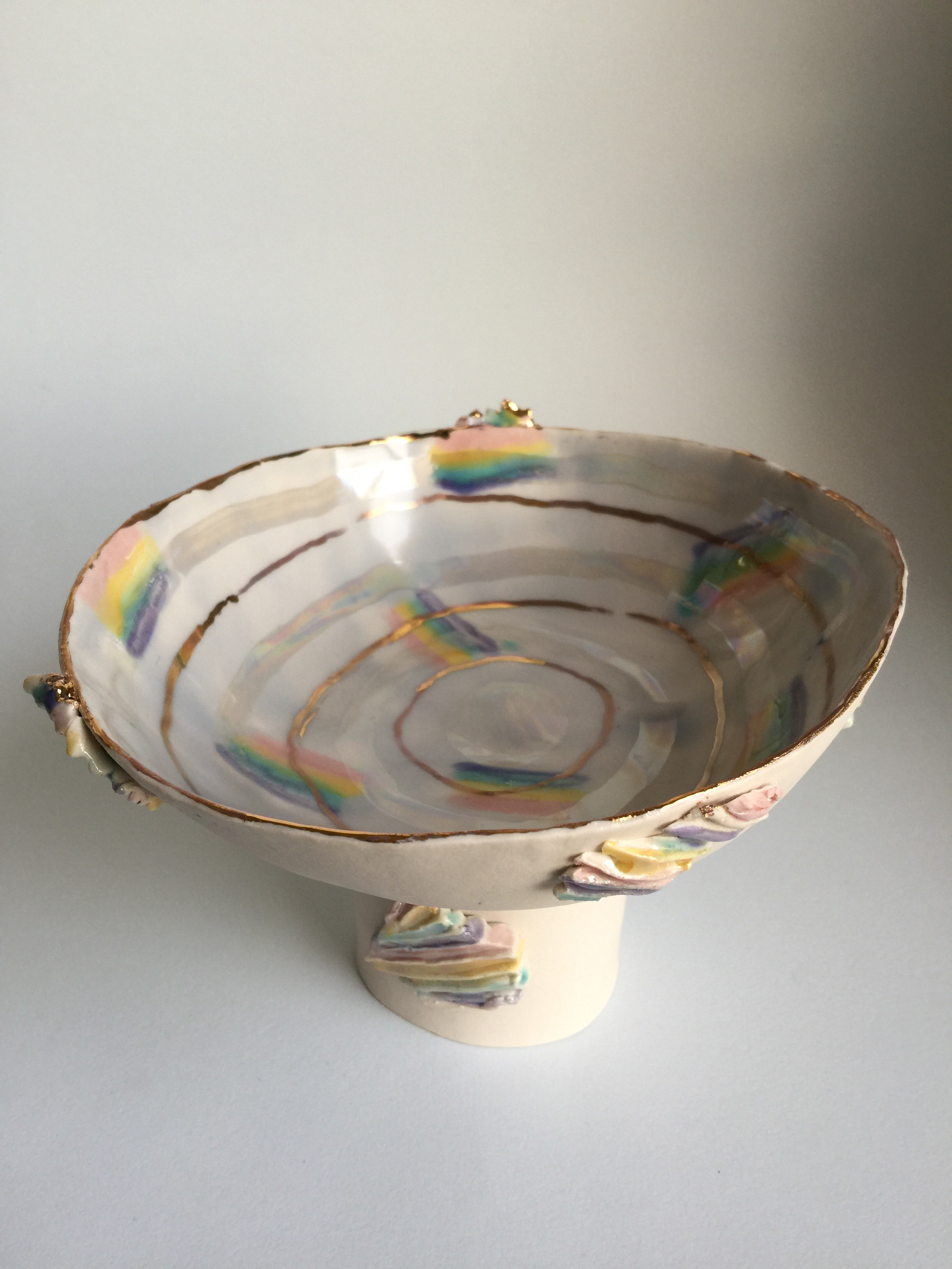 2 Large Prism Pedestal bowl with Gold.jpg