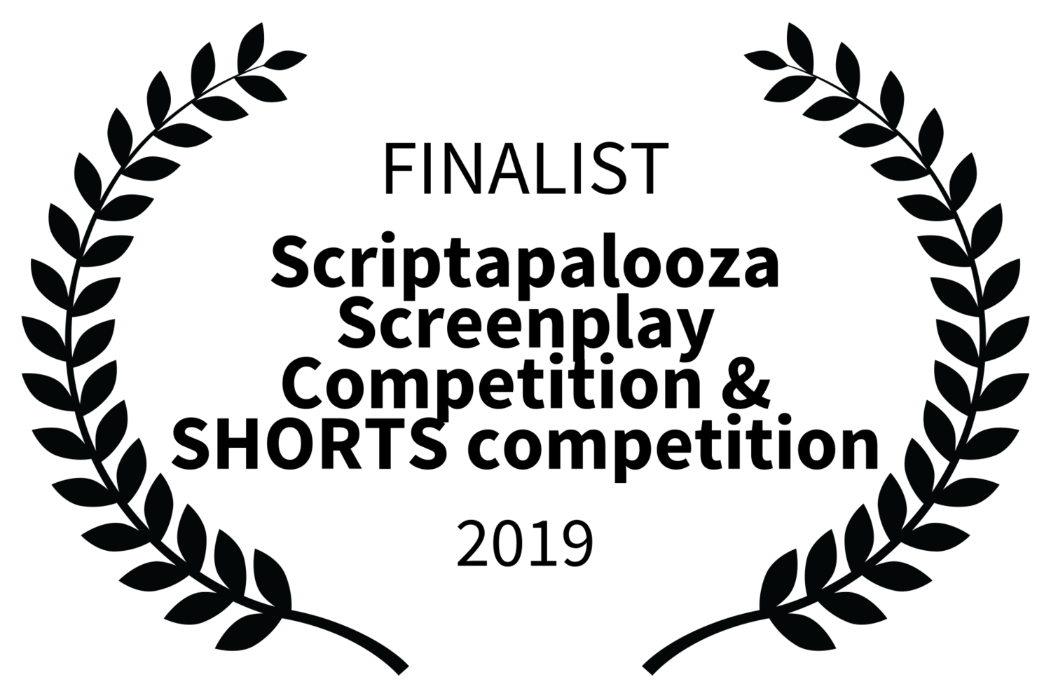 FINALIST - Scriptapalooza Screenplay Competition  SHORTS competition - 2019.png