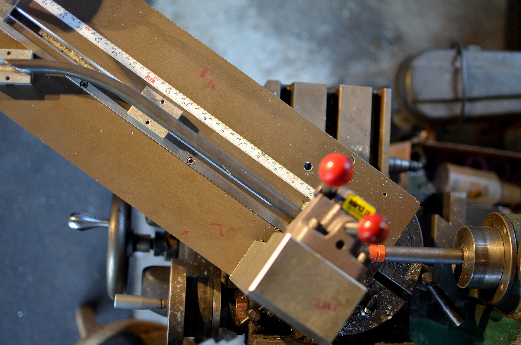 cutting a long miter on a cargo rack tube
