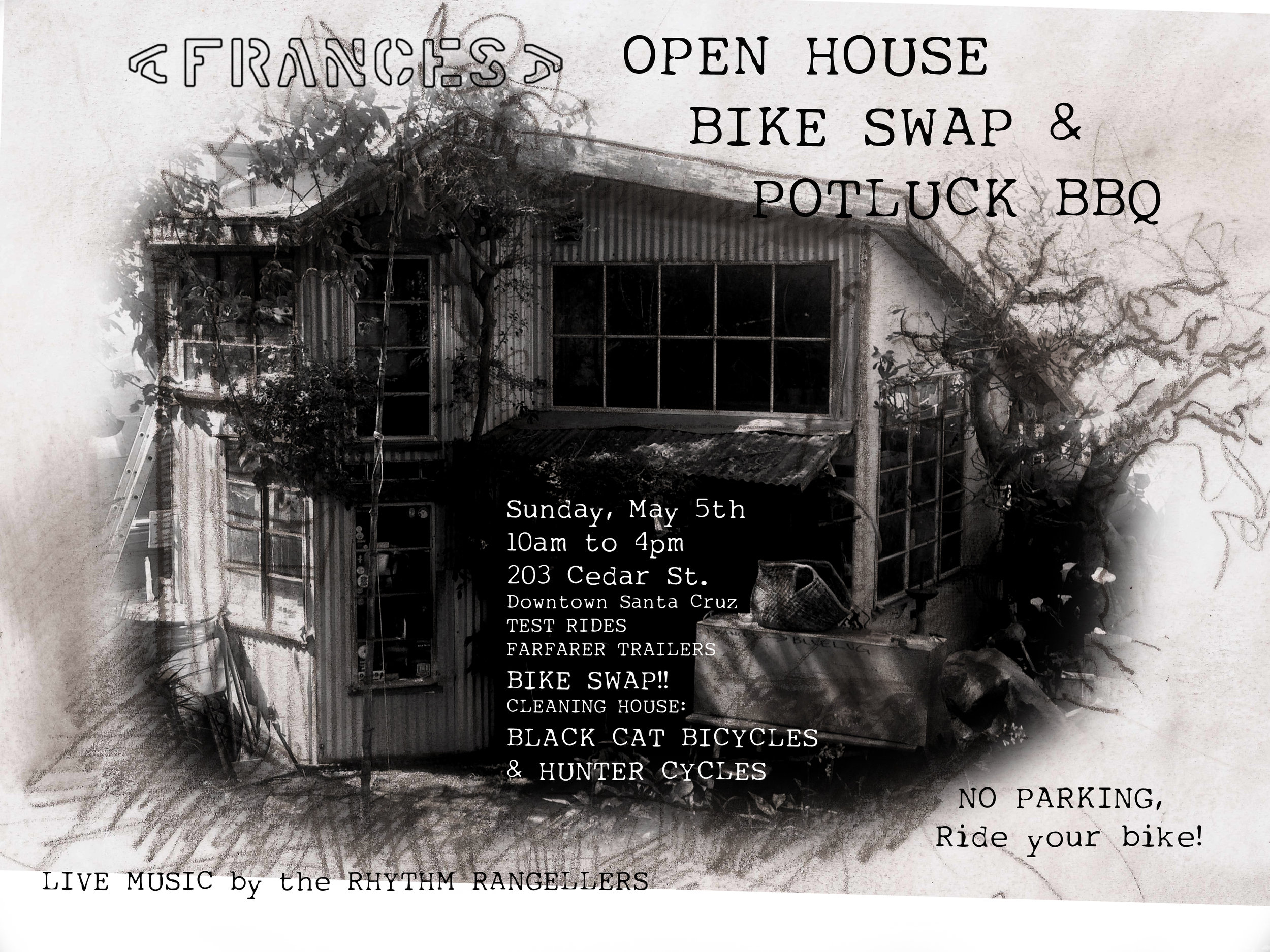 Open house this Sunday May 5th
