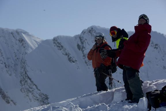 Total Heliski Alaska Tech Tour