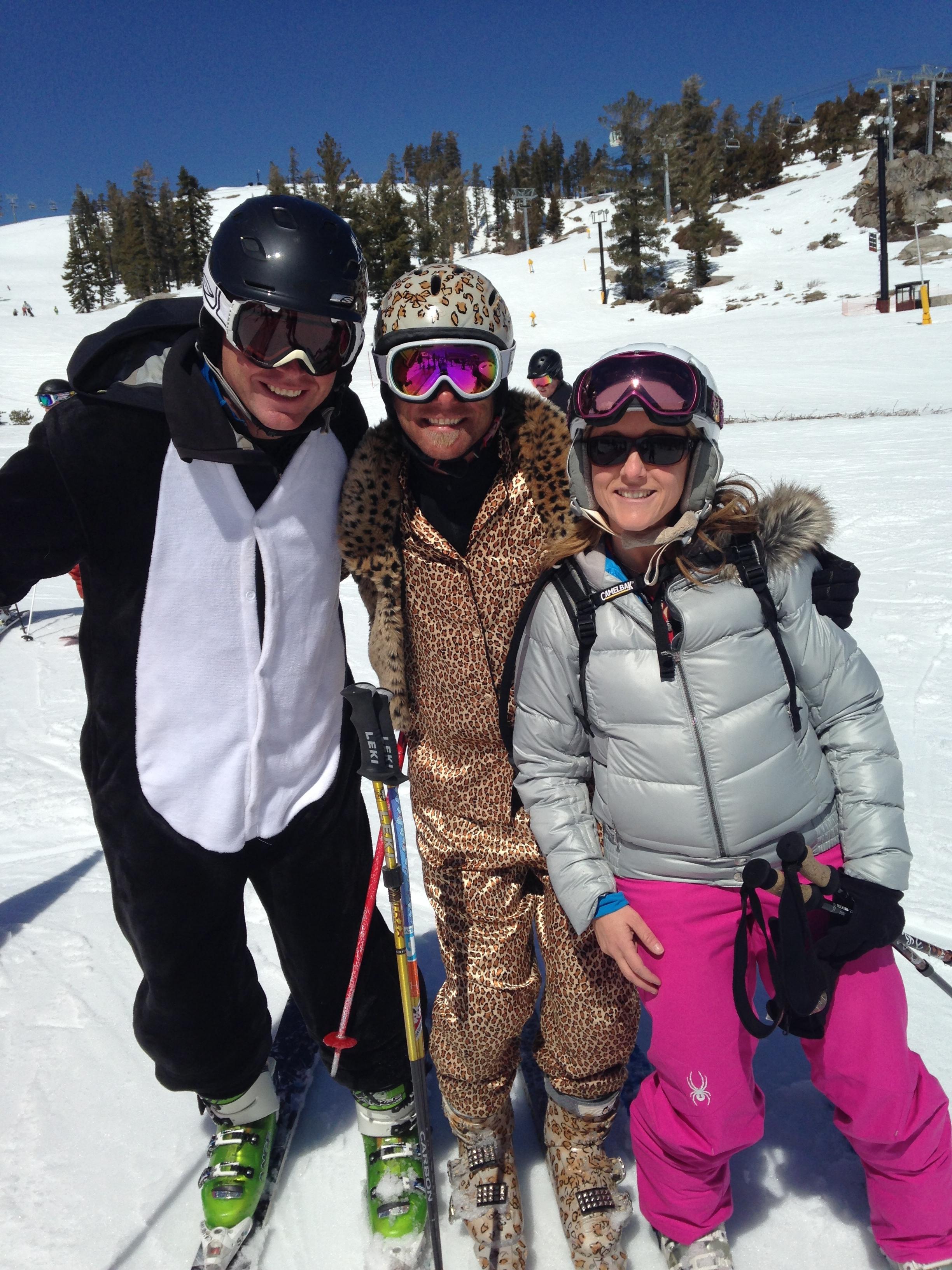 Soul Skiers Like to Dress Up and Ski