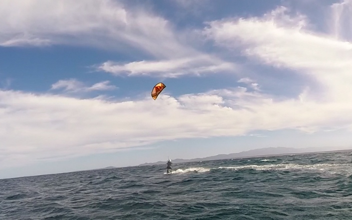 Living Proof that I Kite Boarded