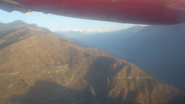 Himalayas in the Distance!