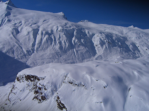 Big mountain terrain that's safe to ski late in the season makes AK an advanced to expert skiers dream.