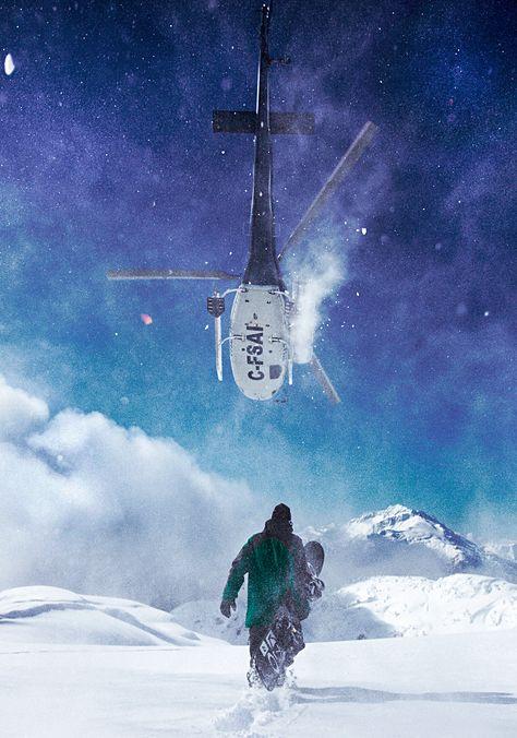 Heli ski heaven!