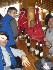 French heli skiers
