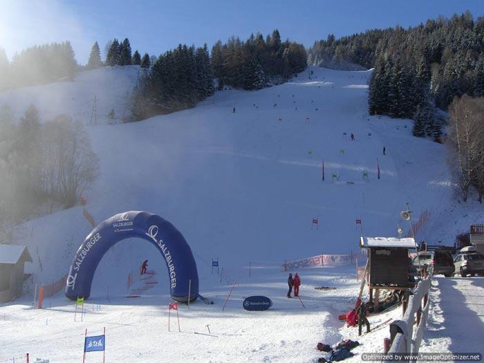 Race course Team GB British Telemark Ski Championships