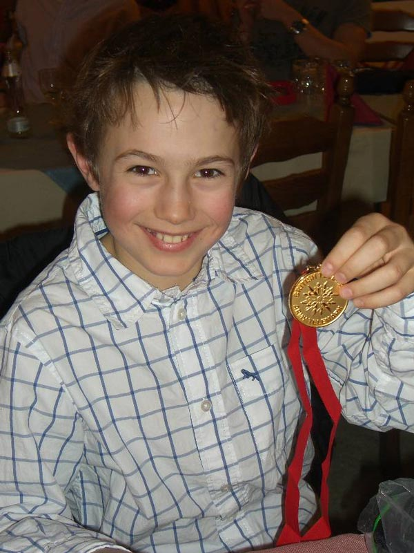 Olly Wotton- Winner of the Juniors- a World Cup winner in the making