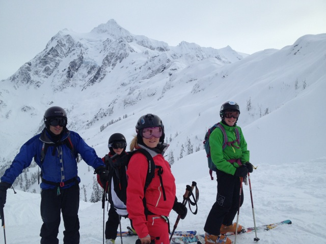 Yours Truly Skiing with the Locals