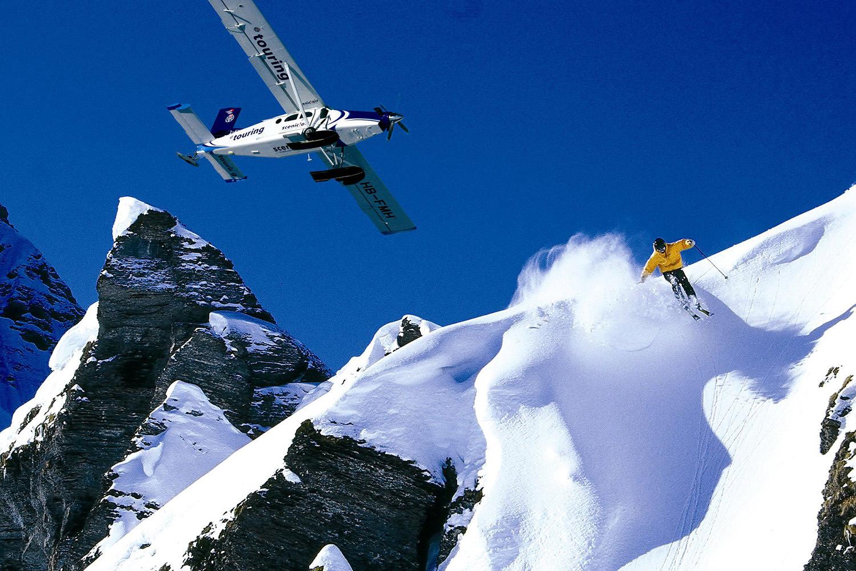 Heli ski the European Alps as a ski safari.