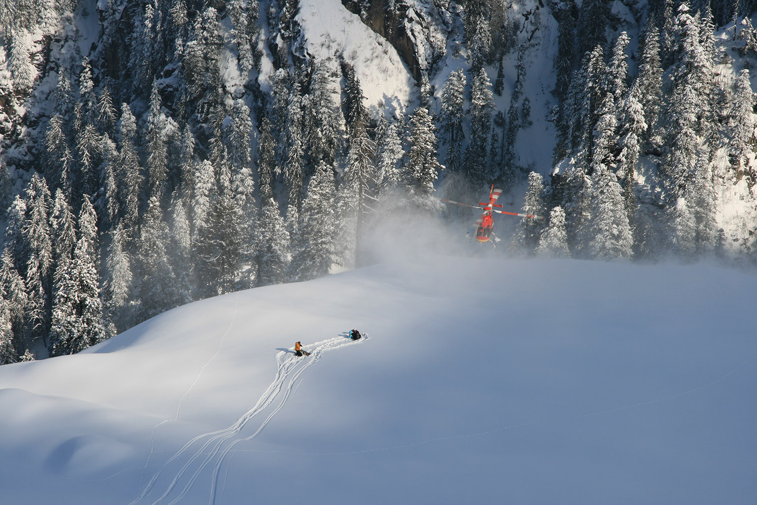 Heli Skiing Information (Safety)