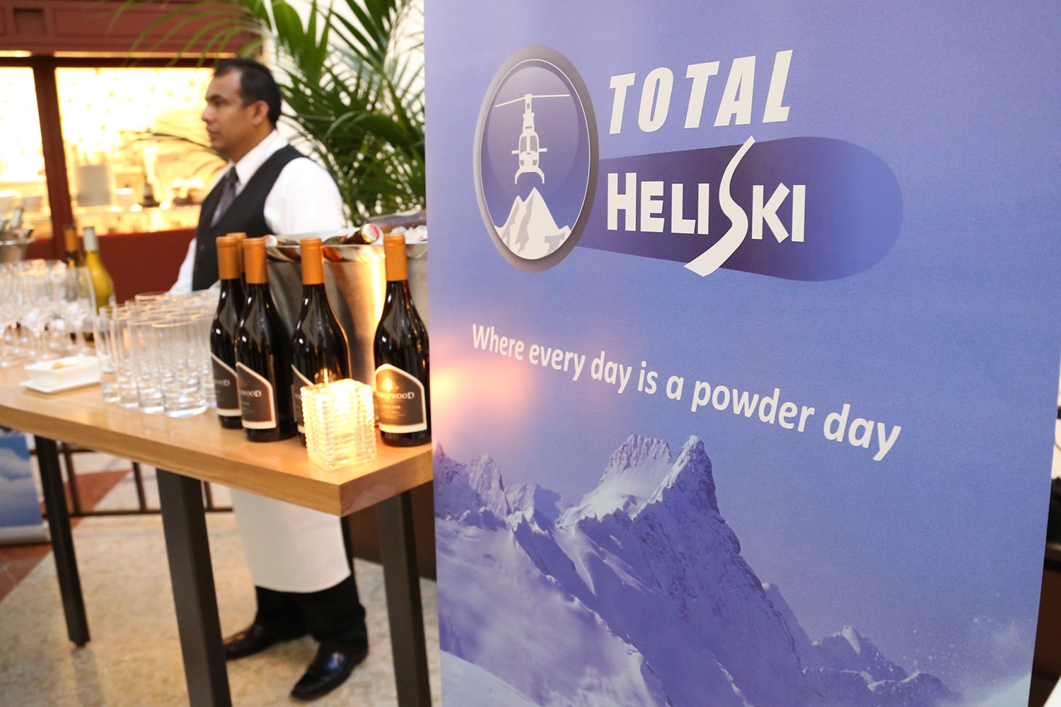 Total Heliski's US of A Launch 2012