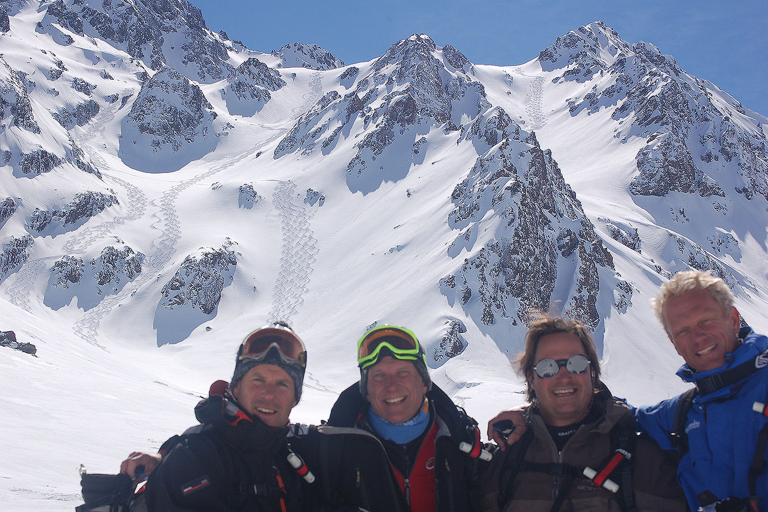 Heli Skiing in Chile with Total Heliski
