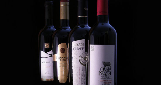 Wine from Chile.  *Photo from Google Images