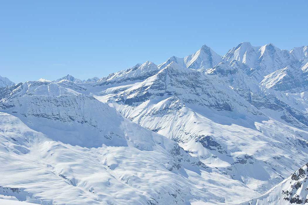 The great Himalayan terrain.