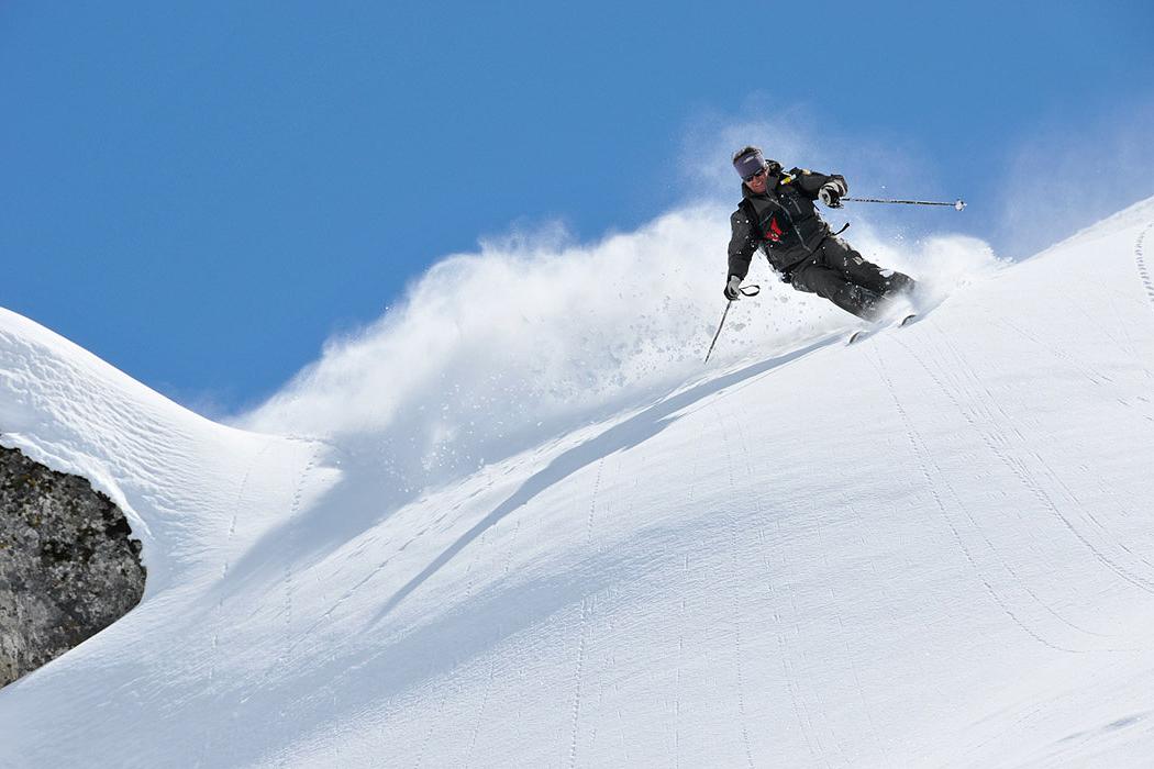 A week long heli ski getaway.