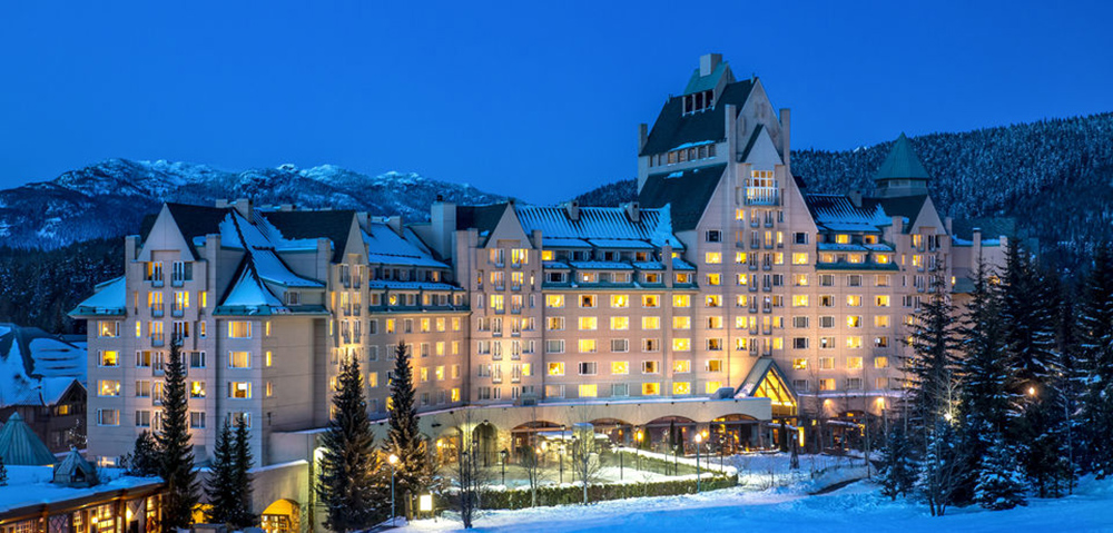 The Luxury Chateau Whistler will be our home for The Summit.